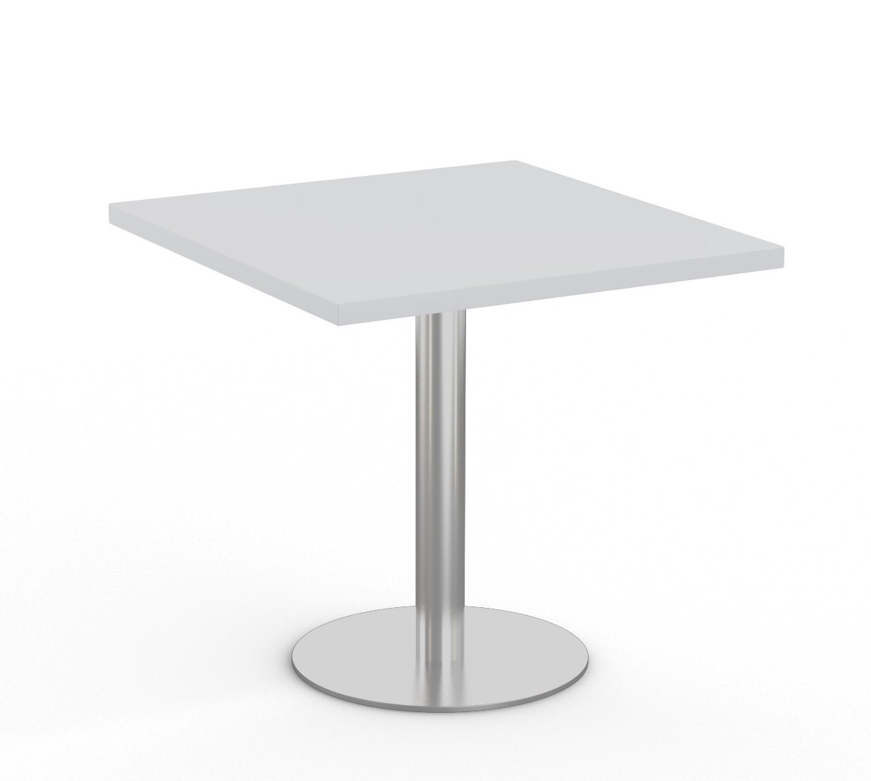 """light grey  36"""" square bistro table by special-t"""