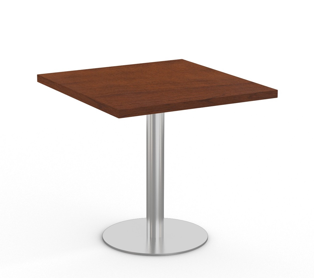 """mahogany  36"""" square bistro table by special-t"""