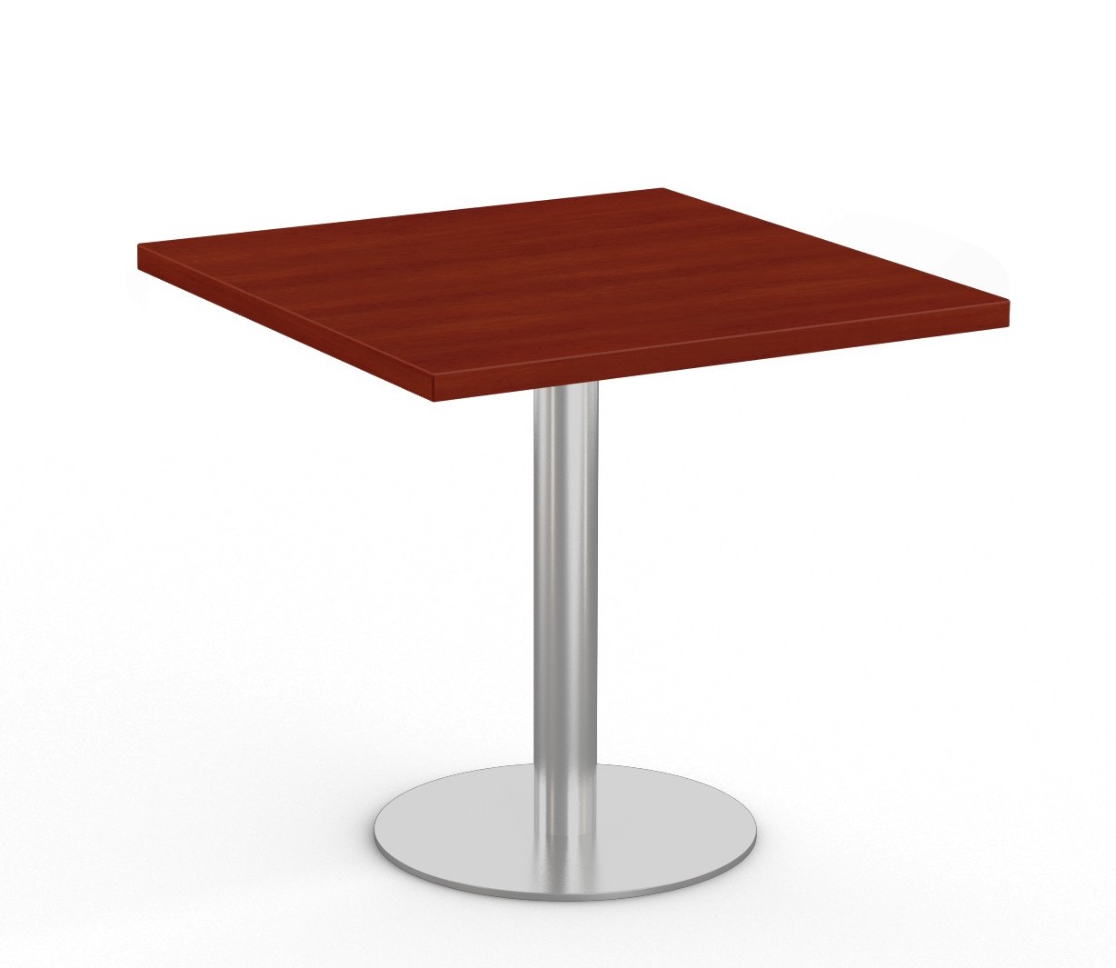 """cherry  36"""" square bistro table by special-t"""