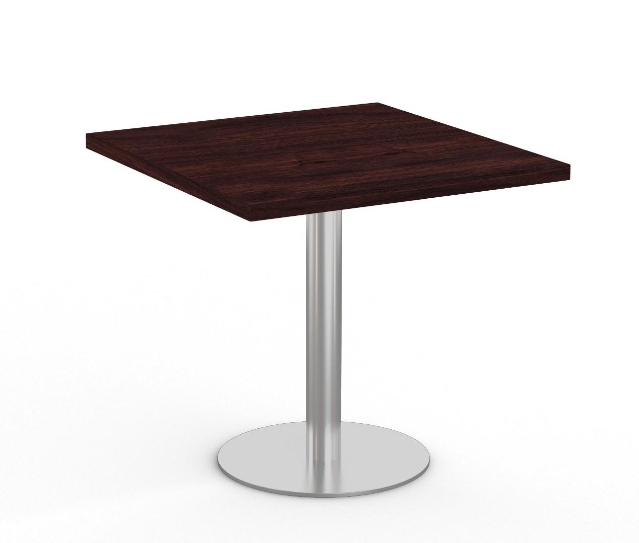 """espresso  36"""" square bistro table by special-t"""