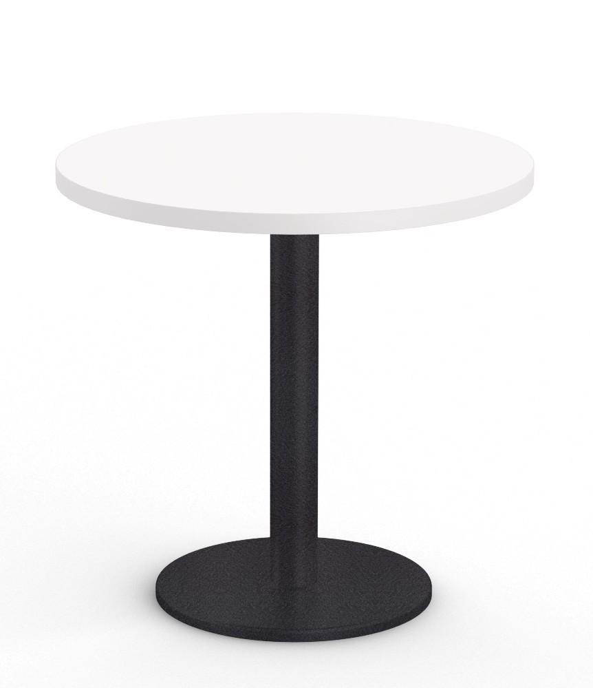 """cantina 36"""" cafe table in white"""