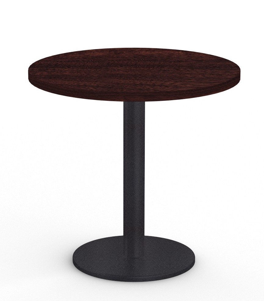 """cantina 36"""" cafe table in espresso"""