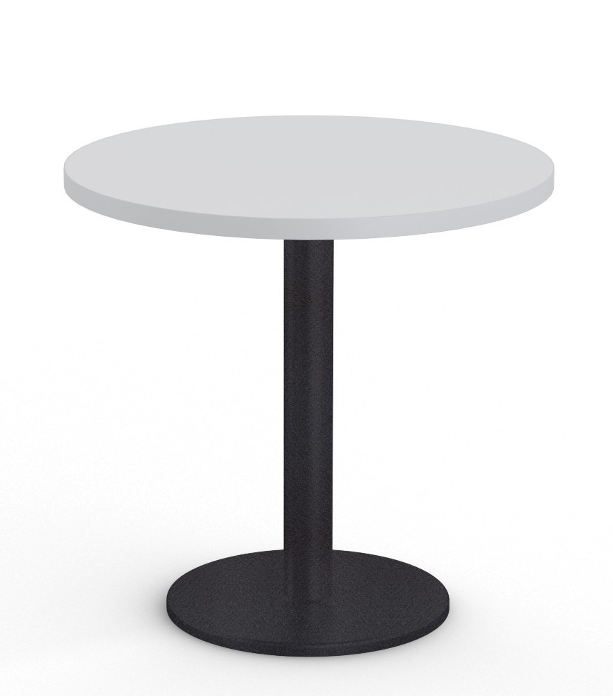 """cantina 36"""" cafe table in light grey"""