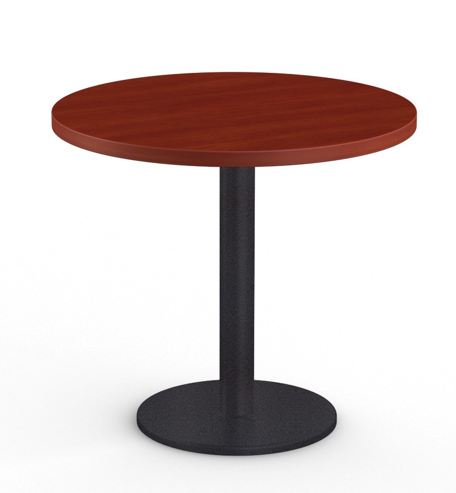 """cantina 36"""" cafe table in cherry"""