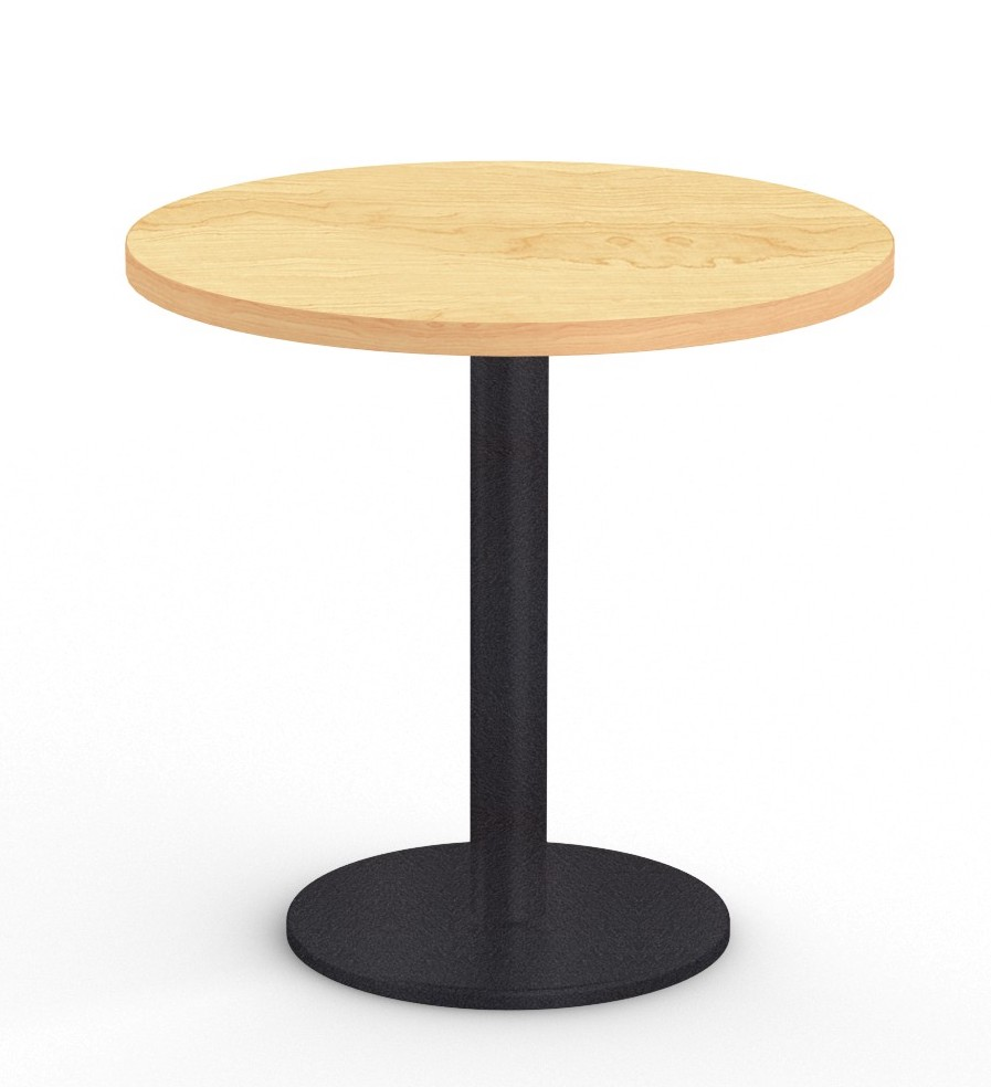 """cantina 36"""" cafe table in crema maple"""