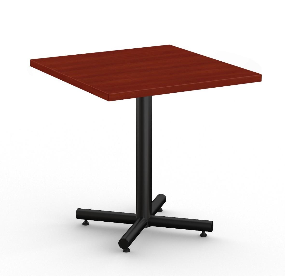 "classix 36"" square table in cherry"