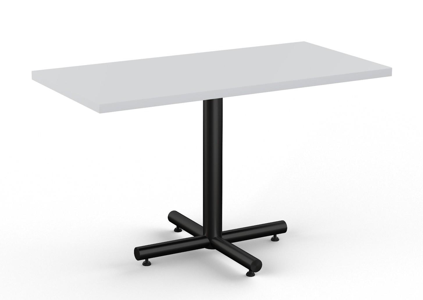 light grey finished classix rectangular cafe table