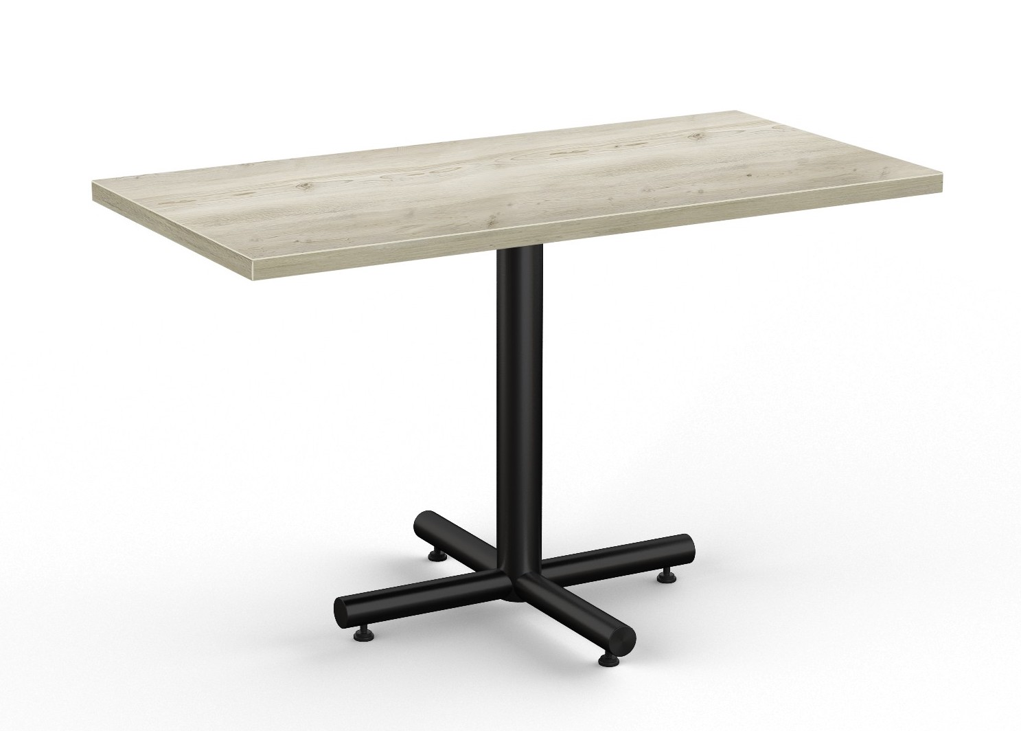 aged driftwood finished classix rectangular cafe table