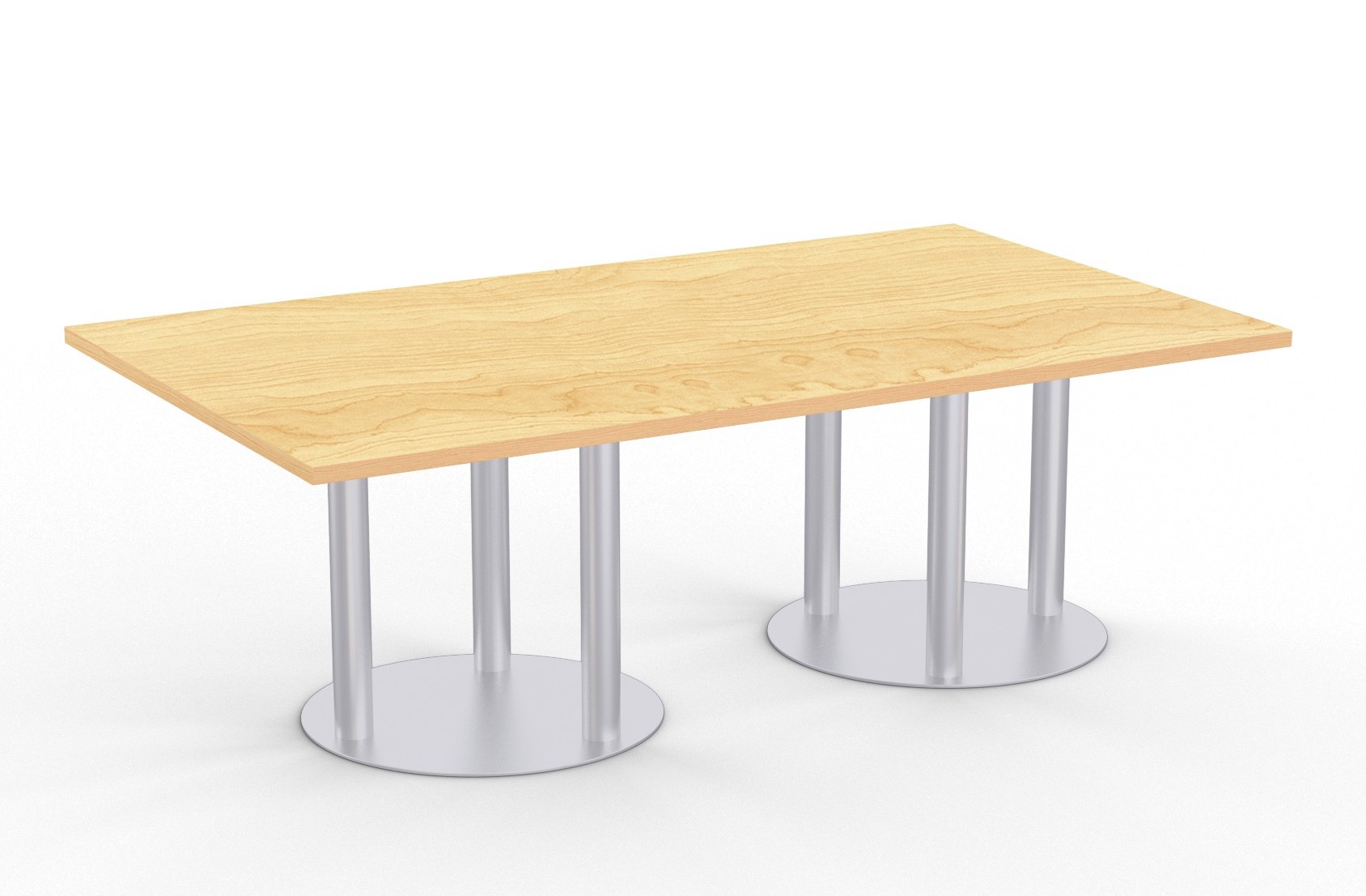 astra table with kensington maple finish