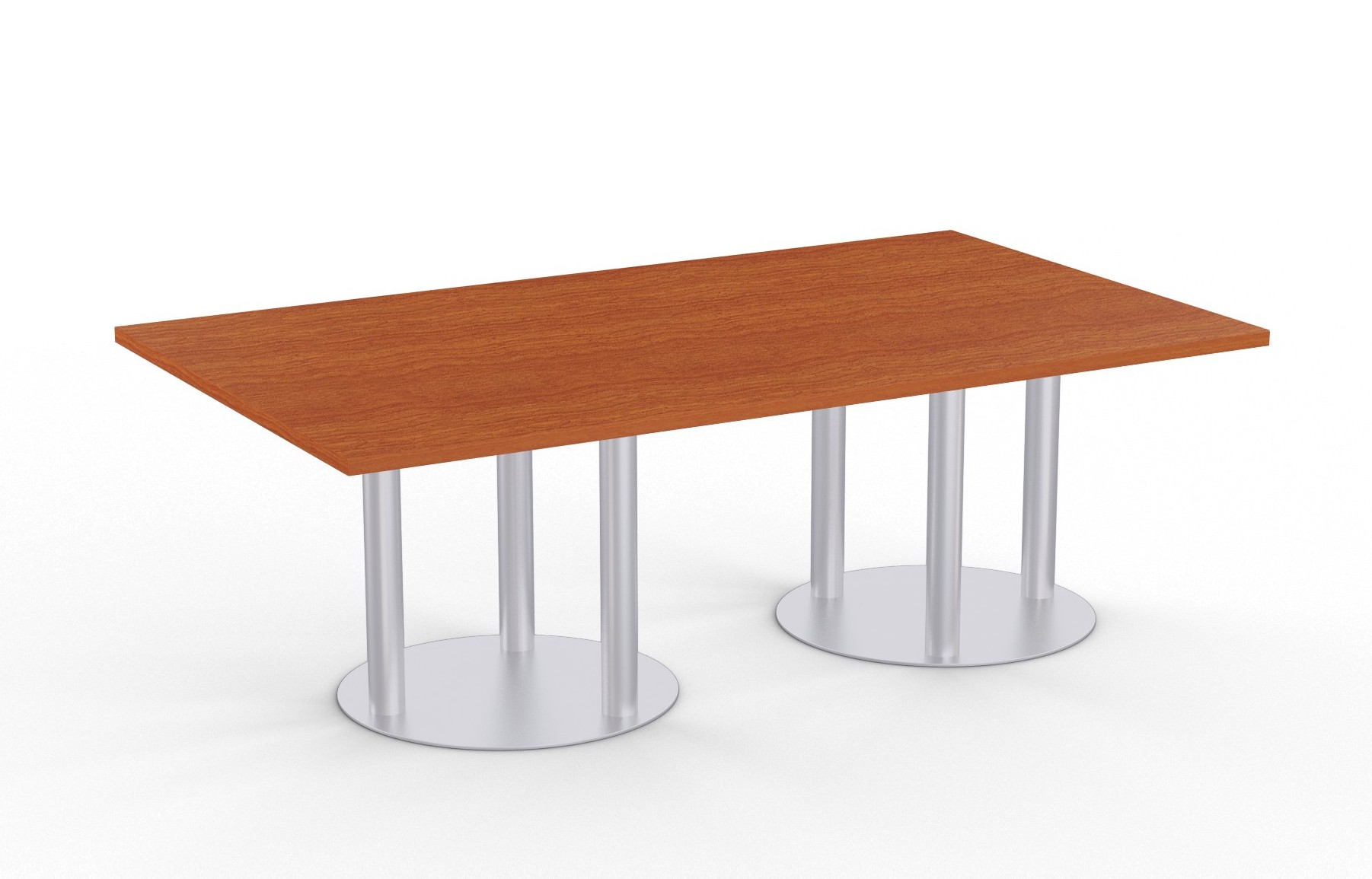astra table with wild cherry finish