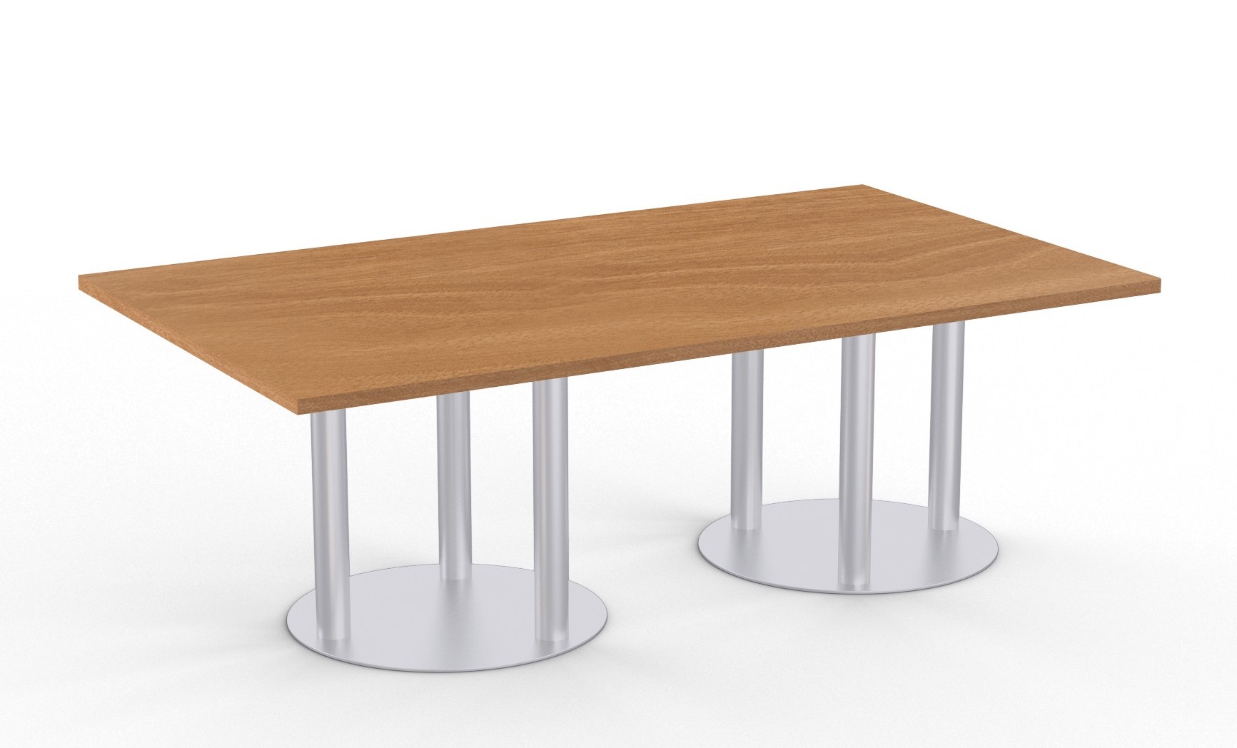 astra table with brazilwood finish