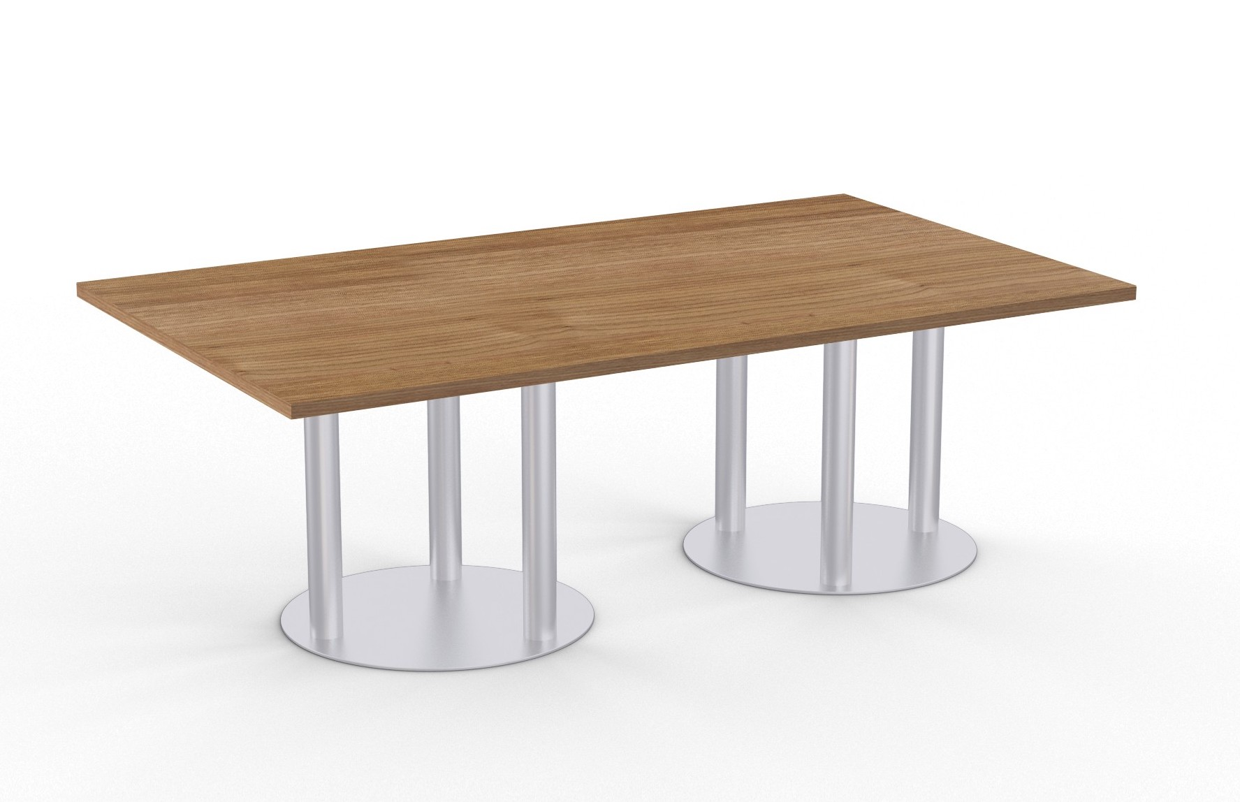 astra table with river cherry finish