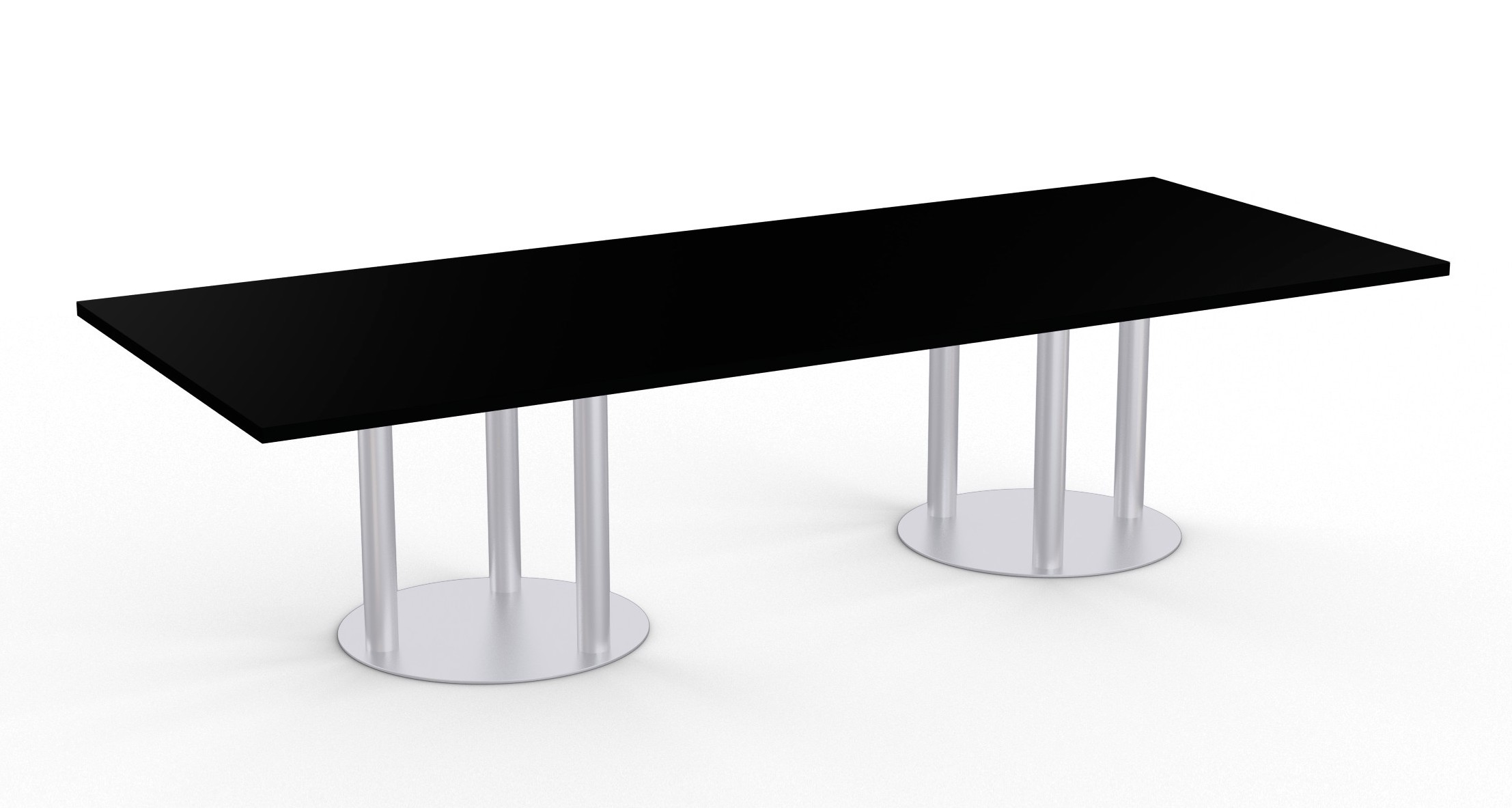astra table with black finish