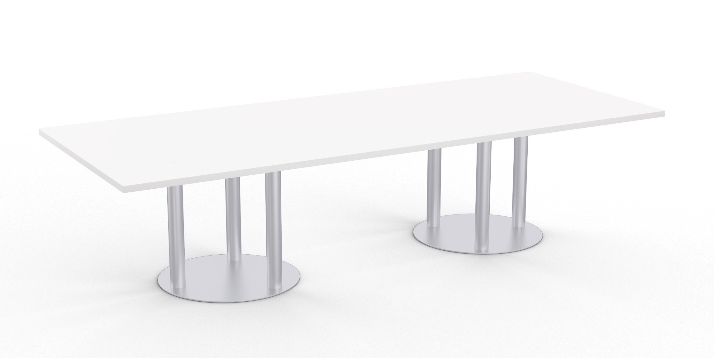 astra table with designer white finish