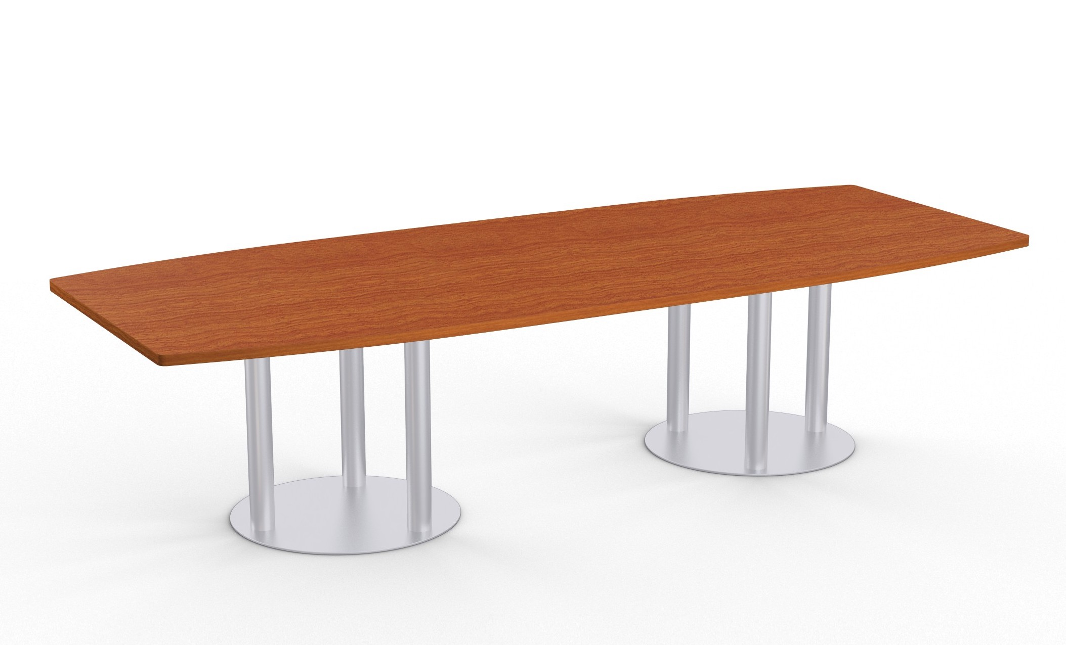 wild cherry astra boat shape conference table