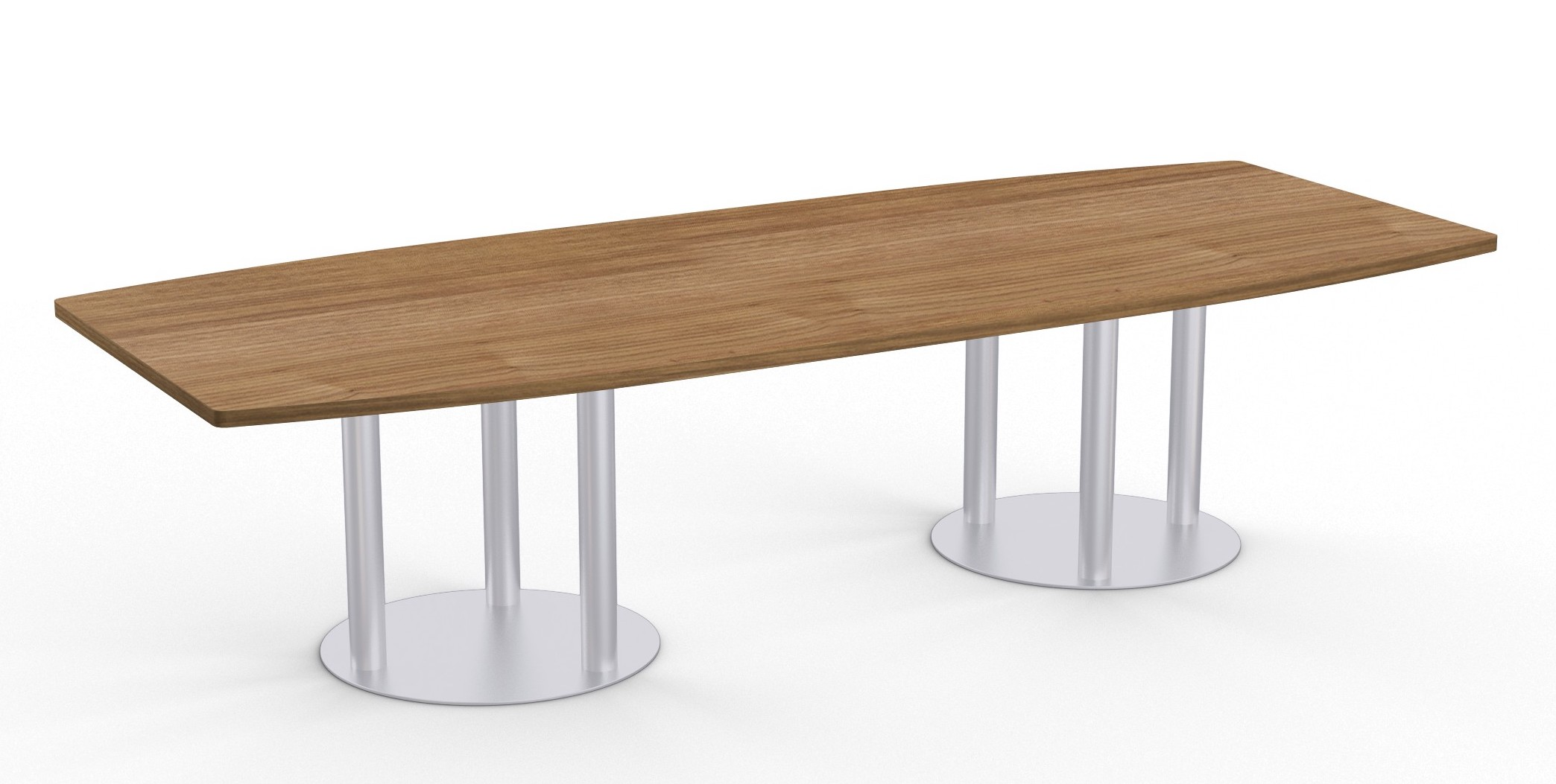 river cherry astra boat shape conference table