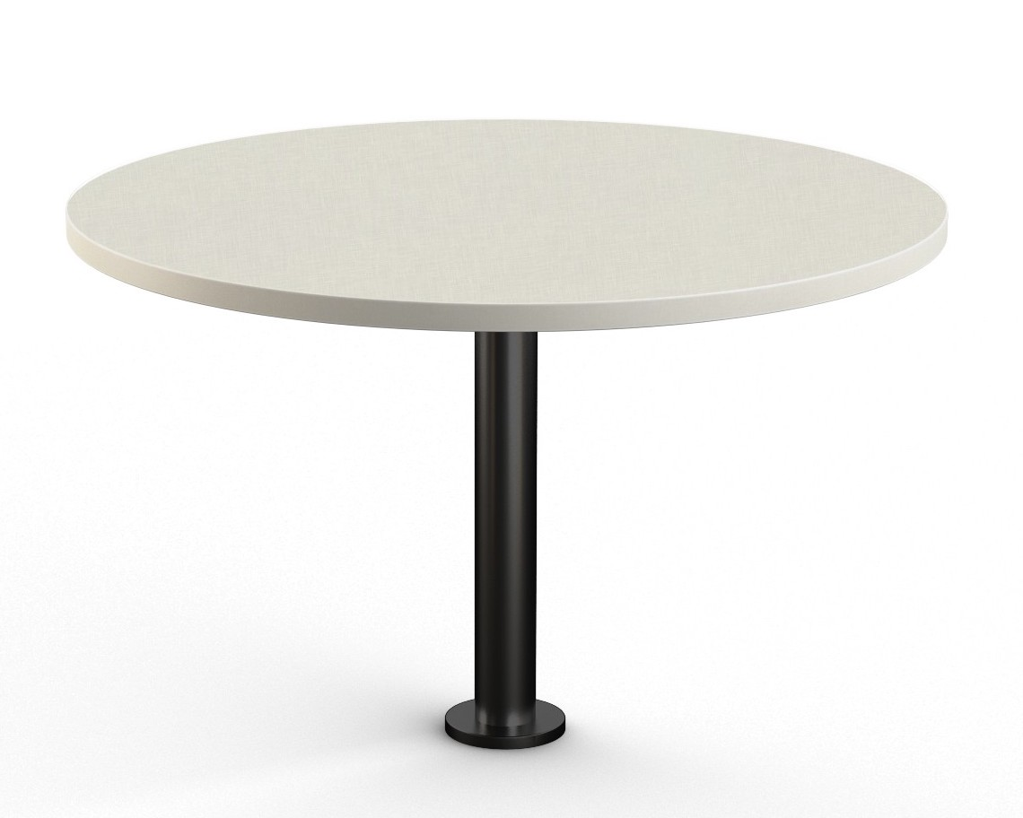 canvas floor mounted round table