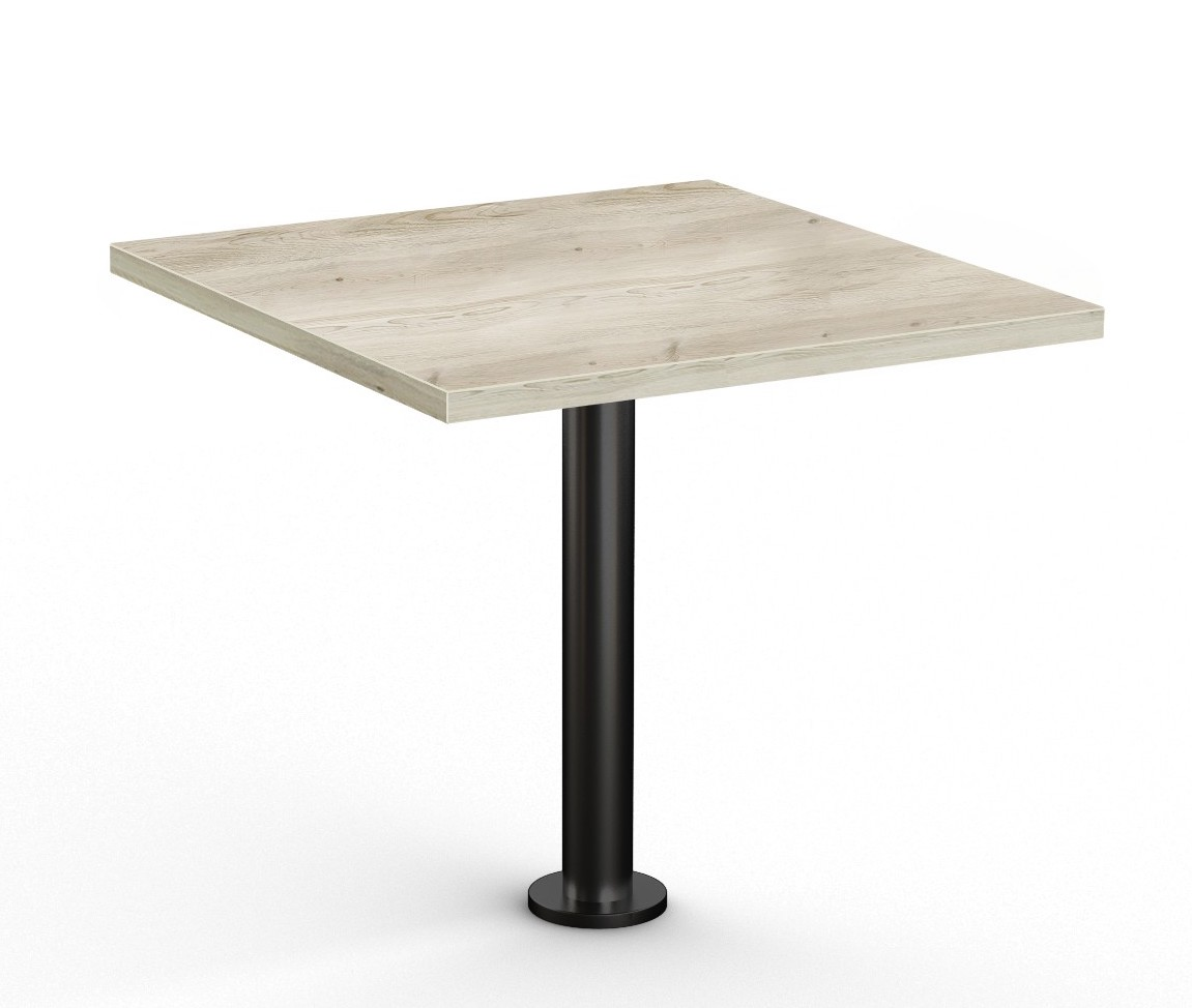 """floor mounted 36"""" square table by special-t"""