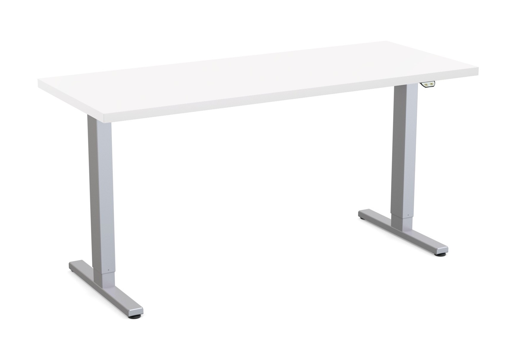 special-t liberty height adjustable table white