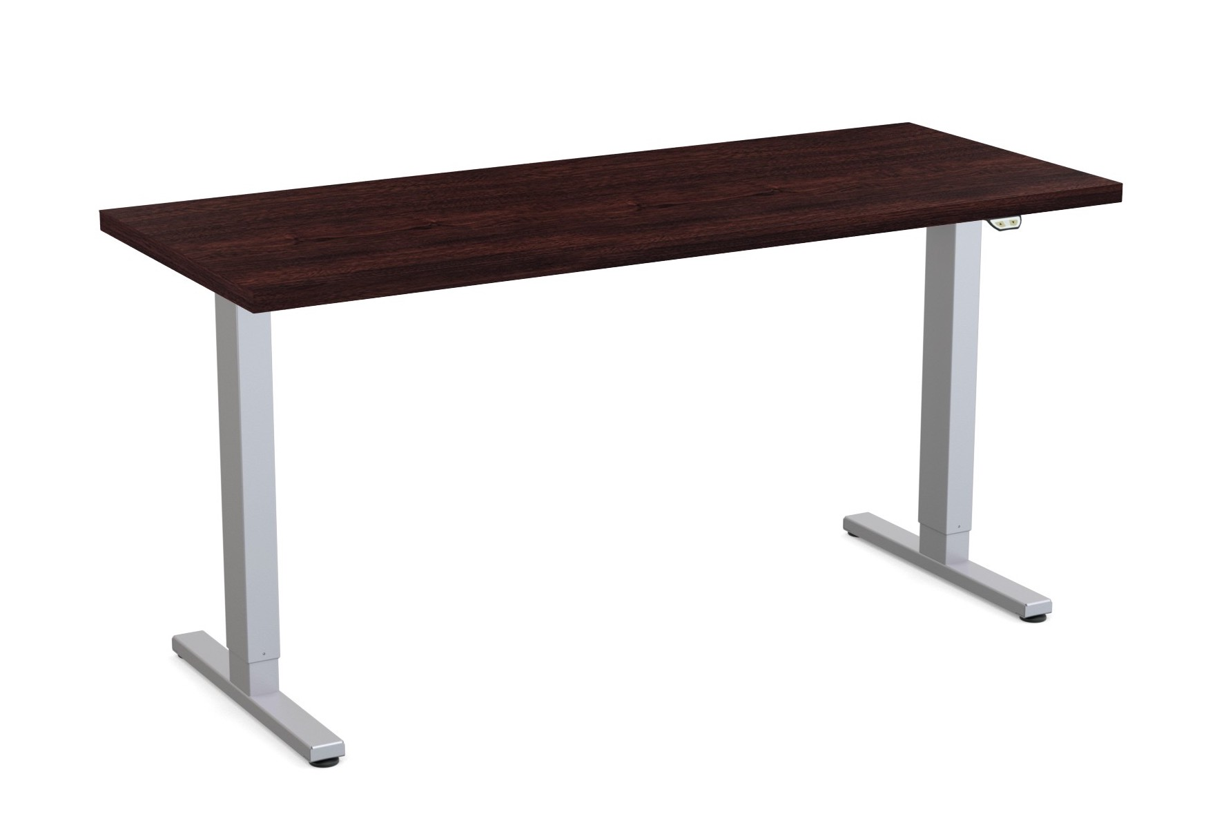 special-t liberty height adjustable table in espresso