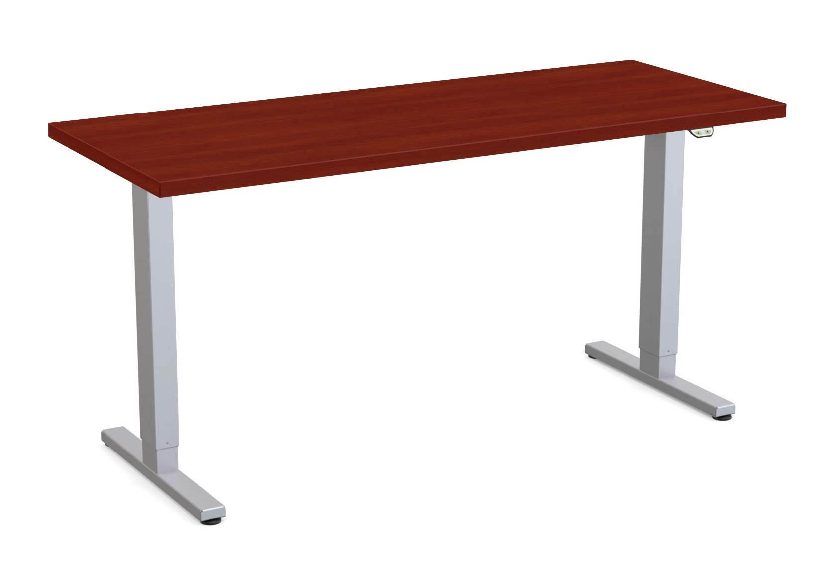 special-t liberty height adjustable table cherry