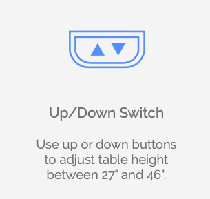 liberty table up down switch
