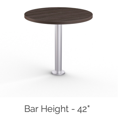 mount bar height table