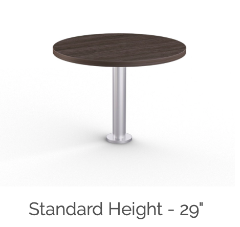 mount standard height table