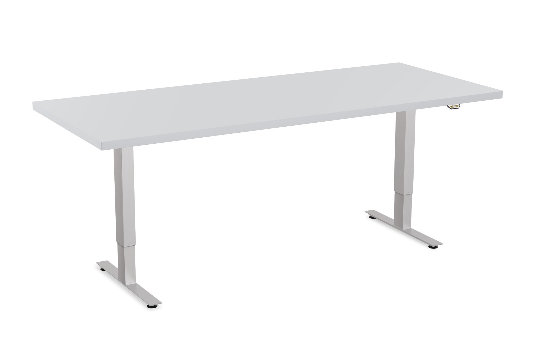 special-t patriot table in light grey