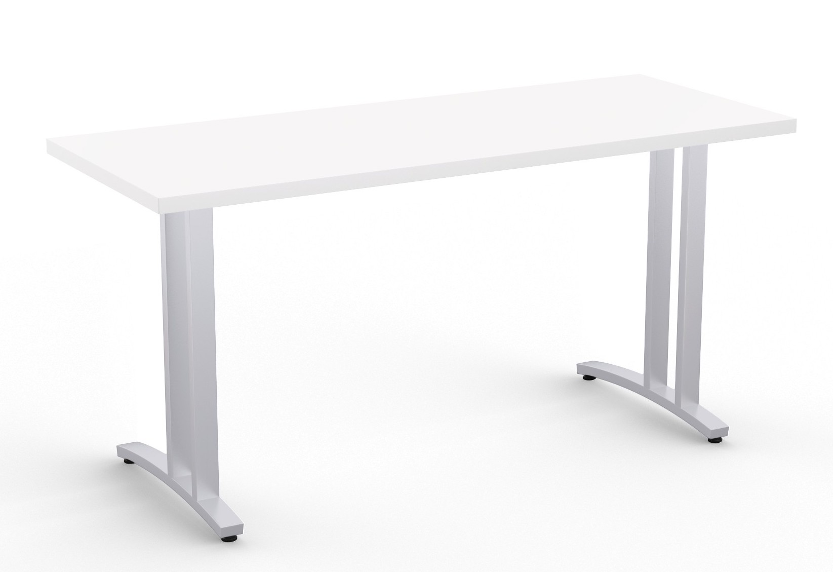 structure 2cl table in white