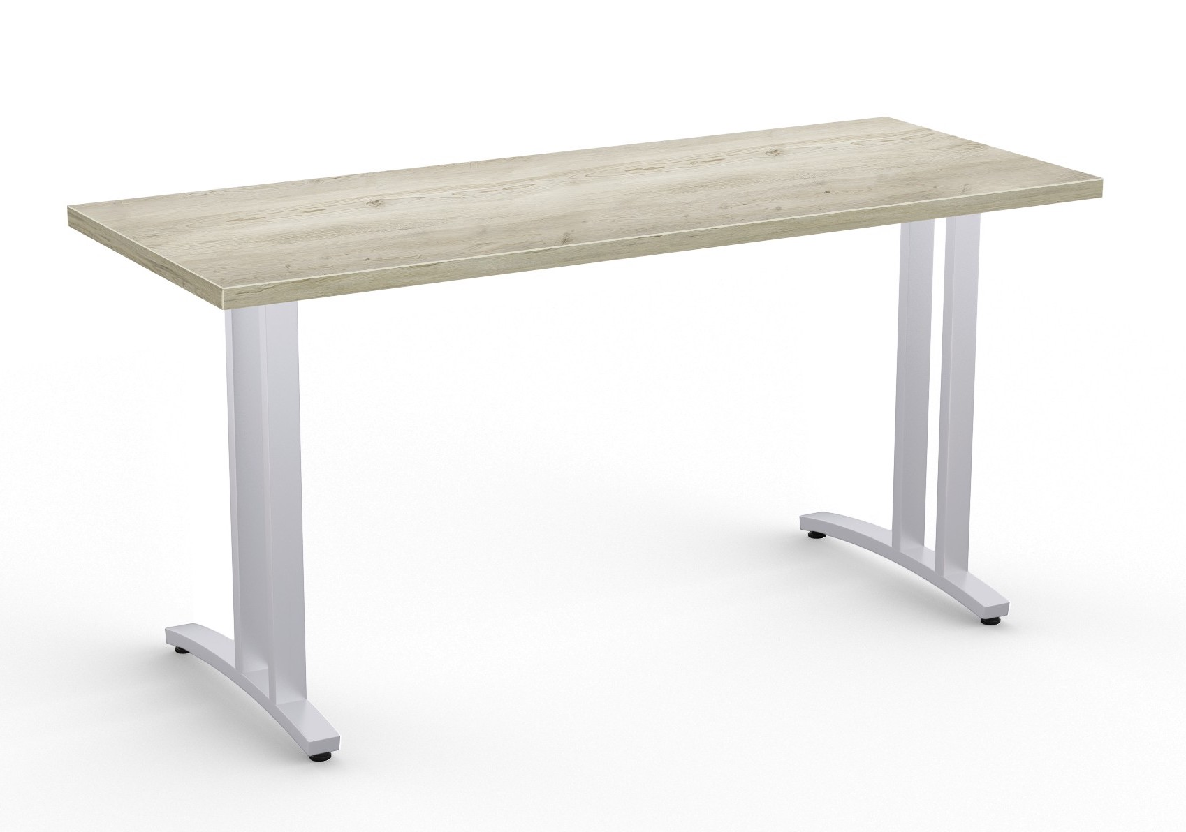 structure 2cl table in aged driftwood