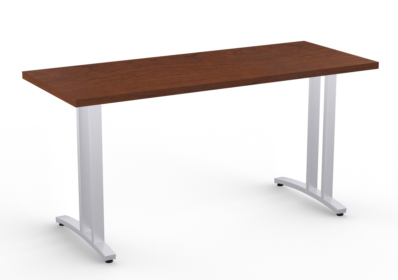 structure 2cl table in mahogany