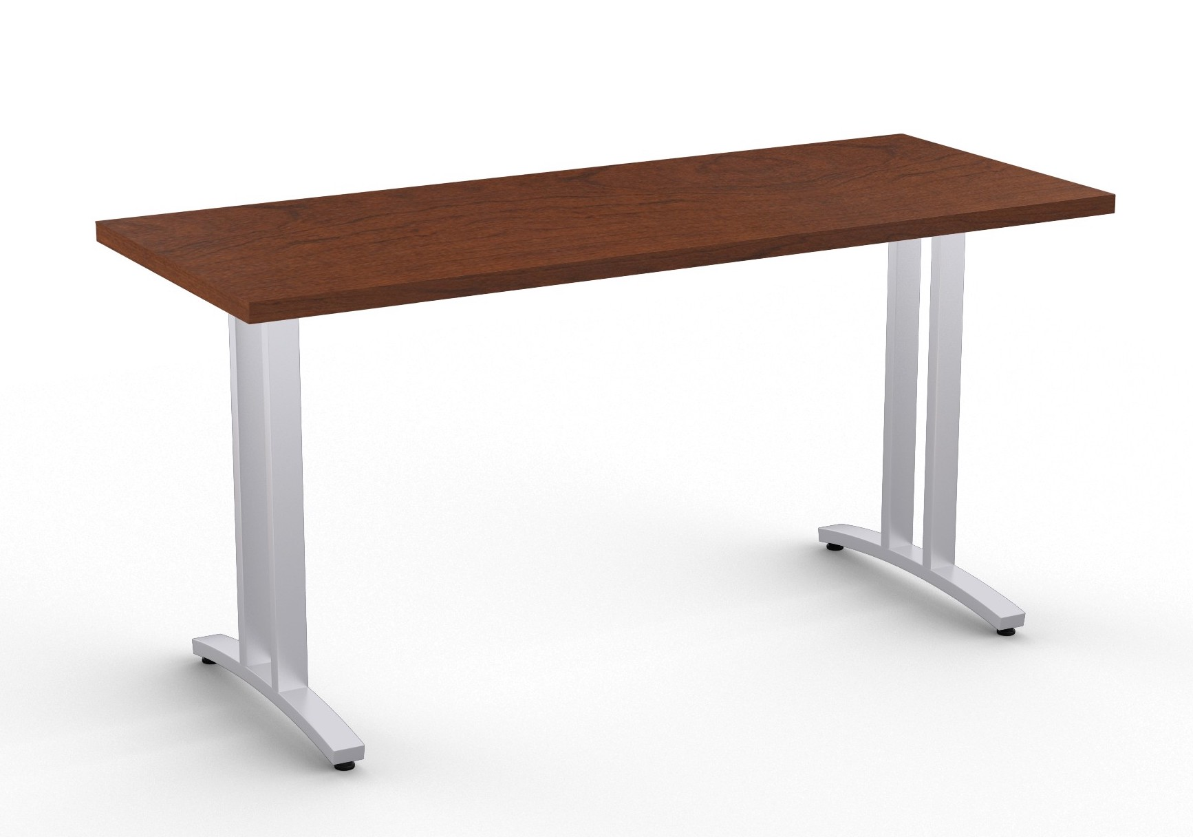 special-t structure 2tl work table in mahogany