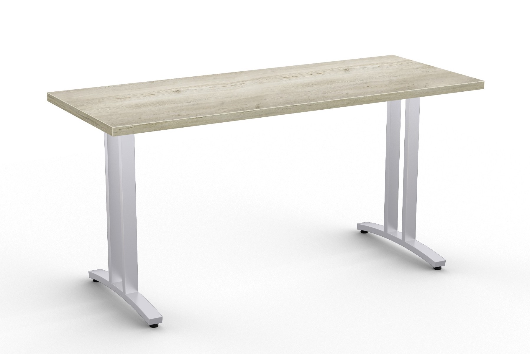 special-t structure 2tl work table in aged driftwood