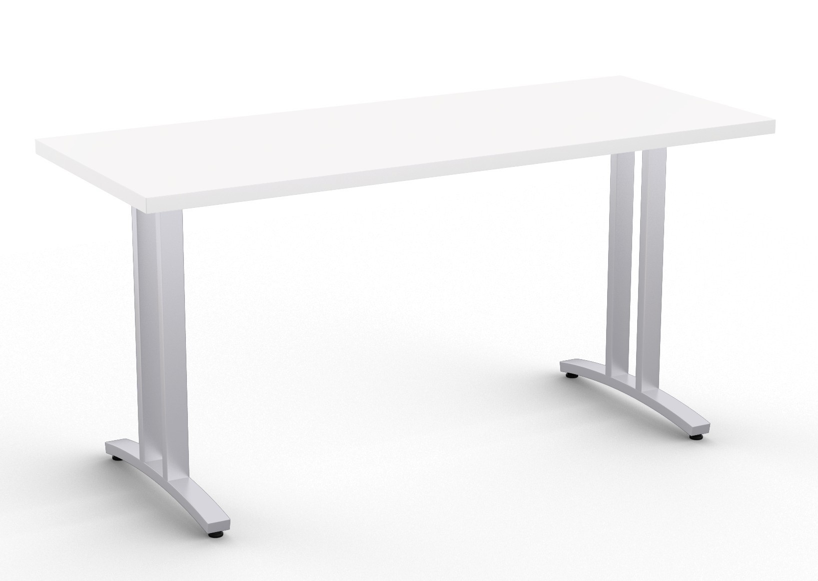 special-t structure 2tl work table in white
