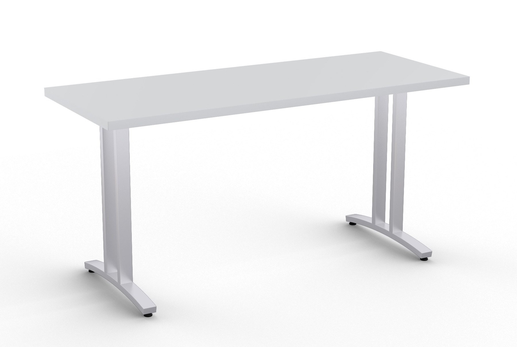 special-t structure 2tl work table in light grey