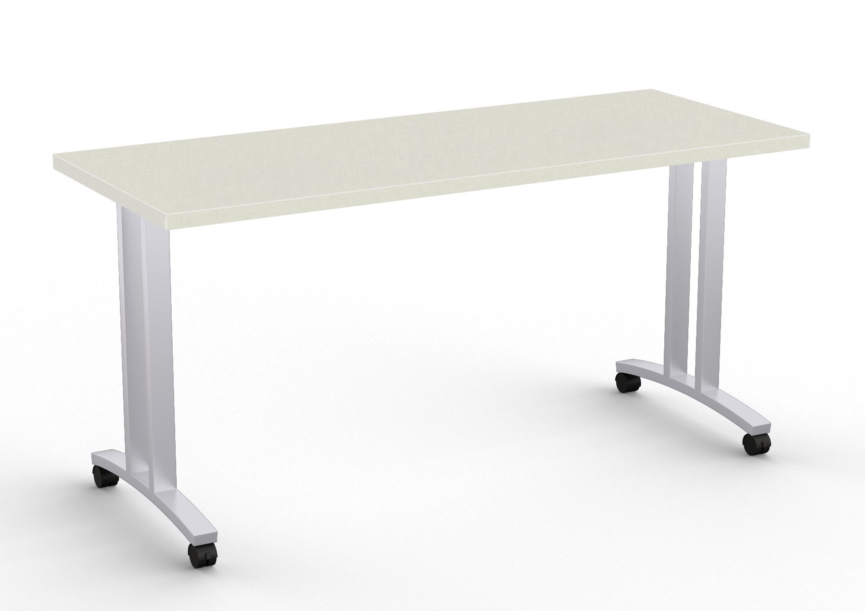 special-t structure t leg training table in canvas