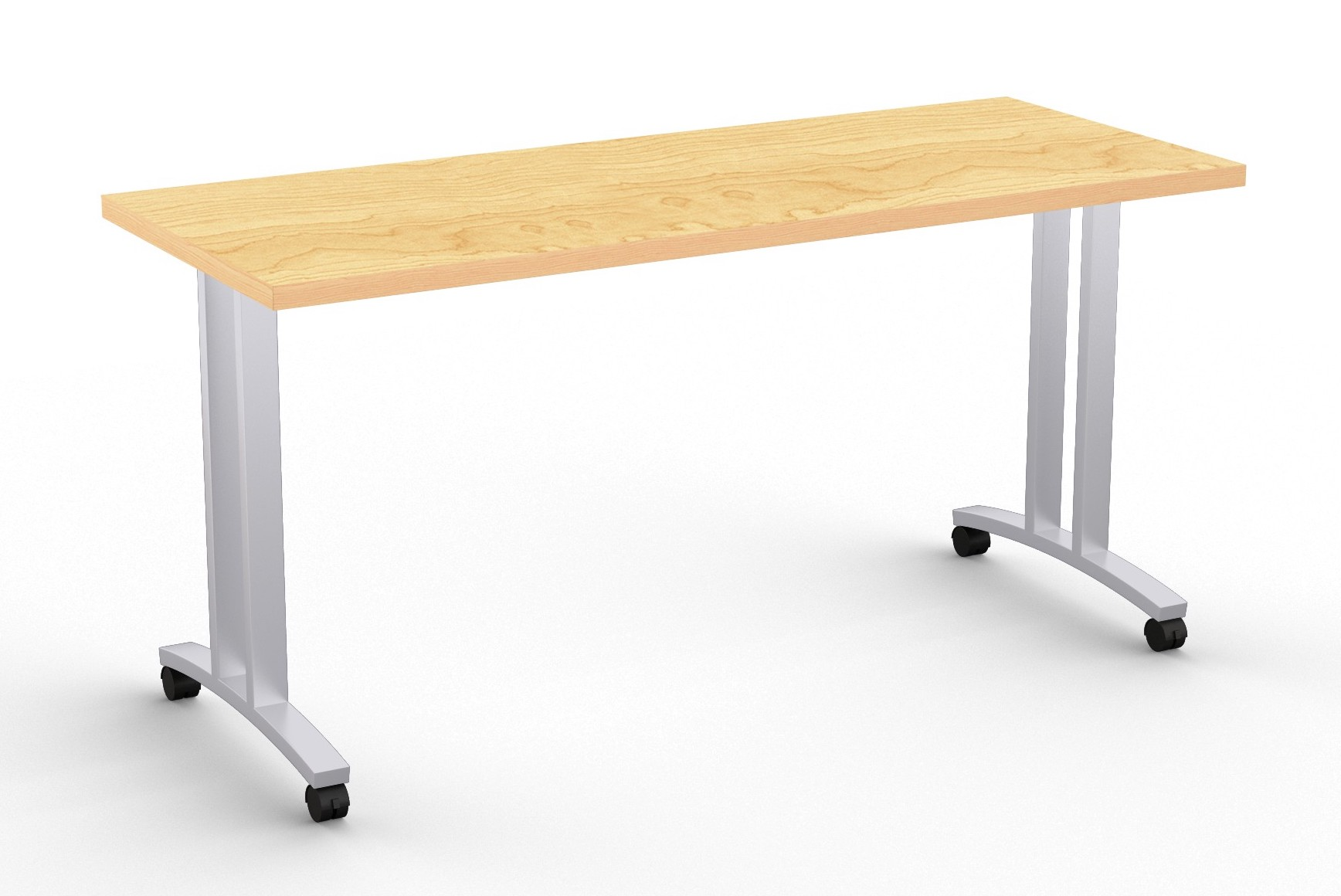 special-t structure t leg training table in crema maple