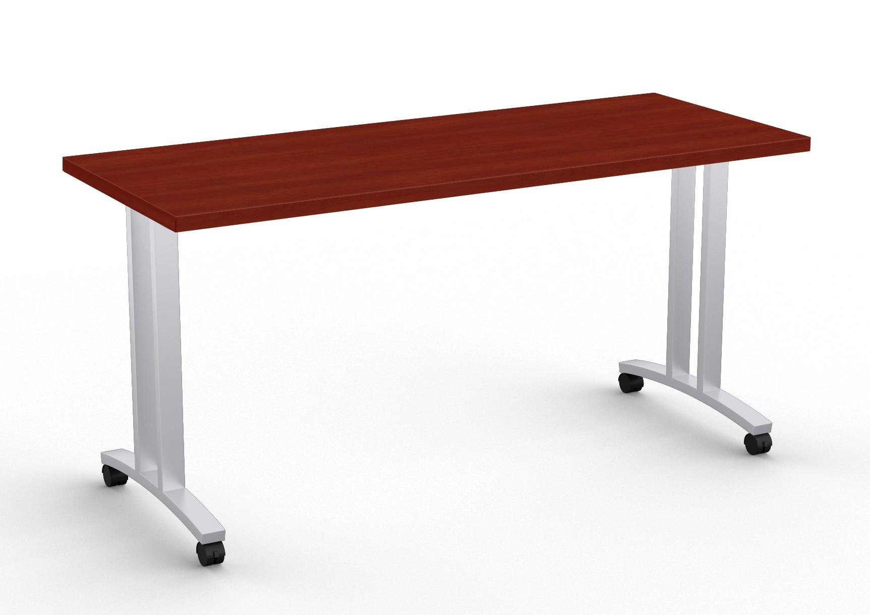 special-t structure t leg training table in cherry