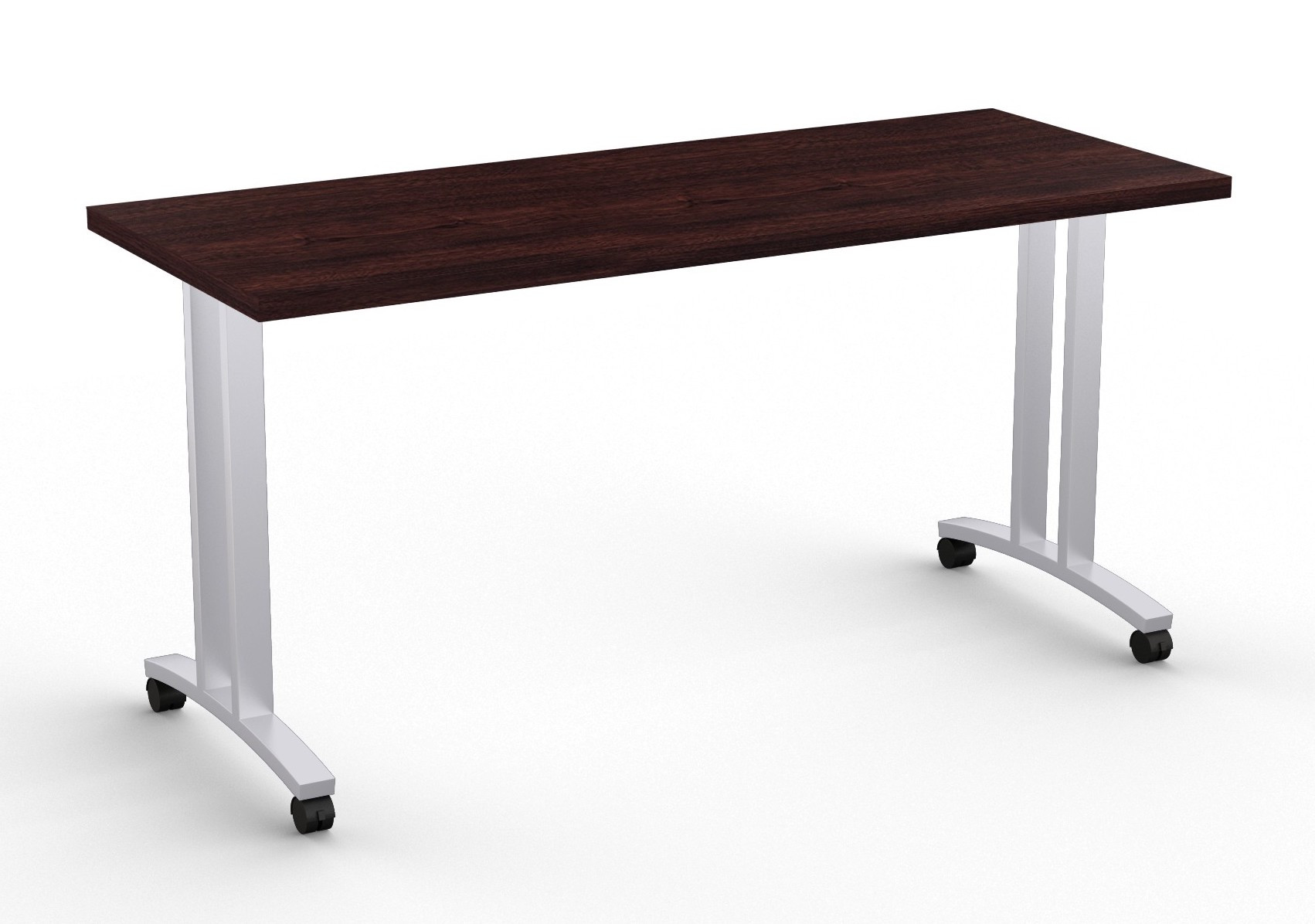 special-t structure t leg training table in espresso