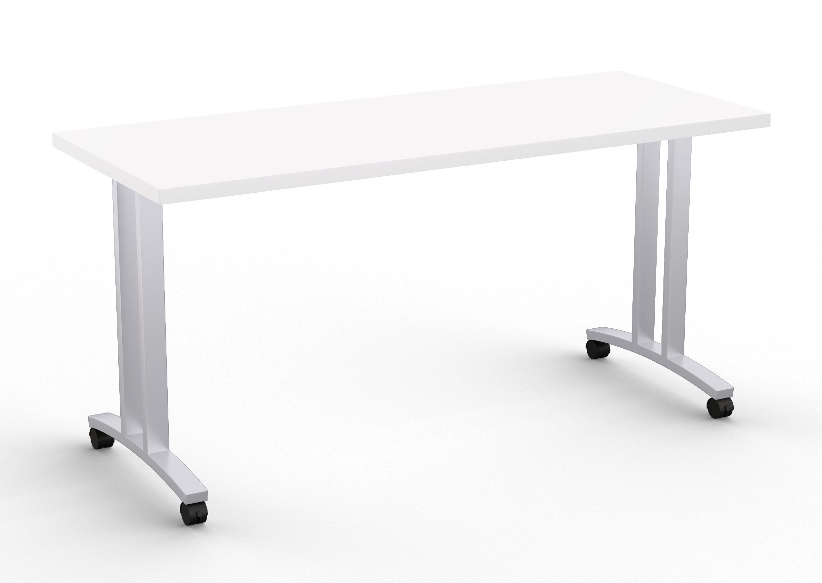 special-t structure t leg training table in white