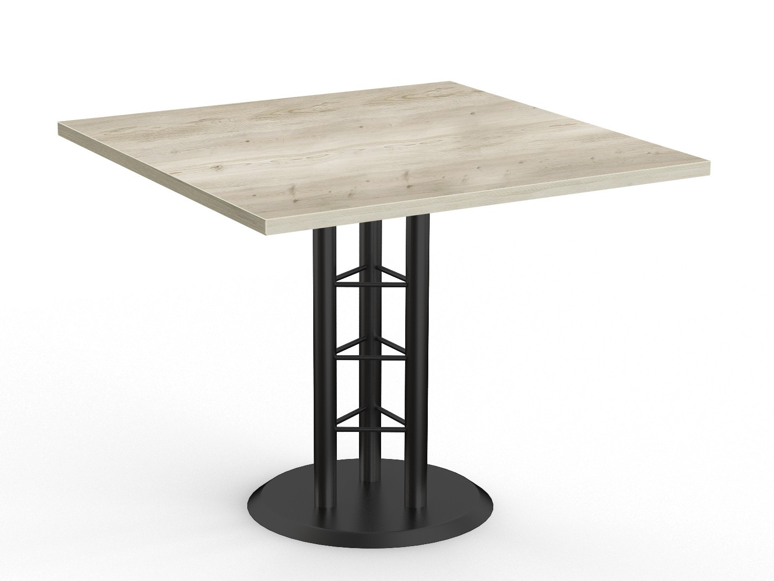 special-t success table in aged driftwood