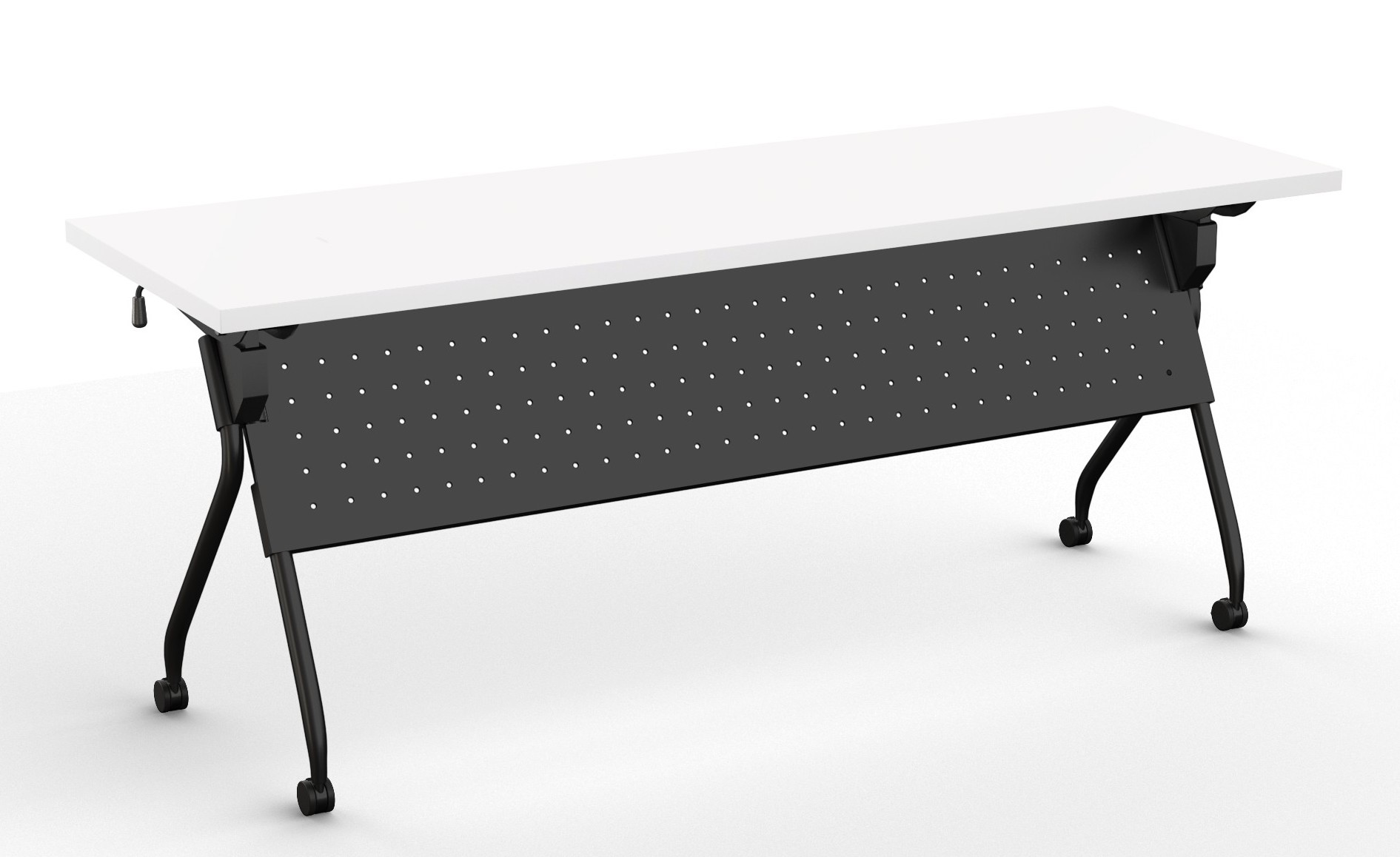 Special T Transform 2 Flip Top Nesting Training Table With Modesty Panel