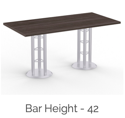 bar height atlantis conference table