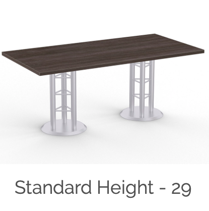 standard height atlantis table