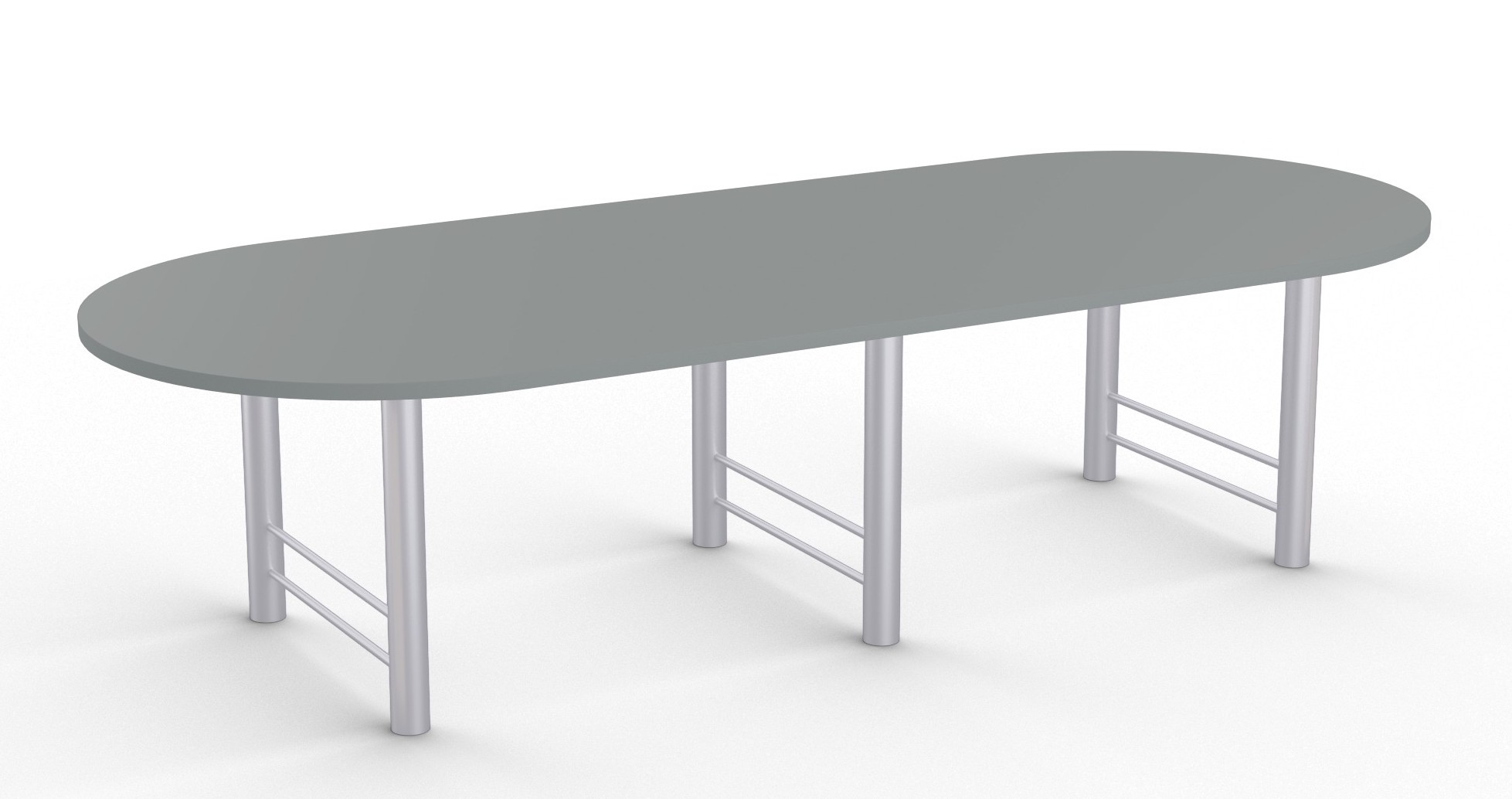 benton collection large rectangular conference room table with racetrack top