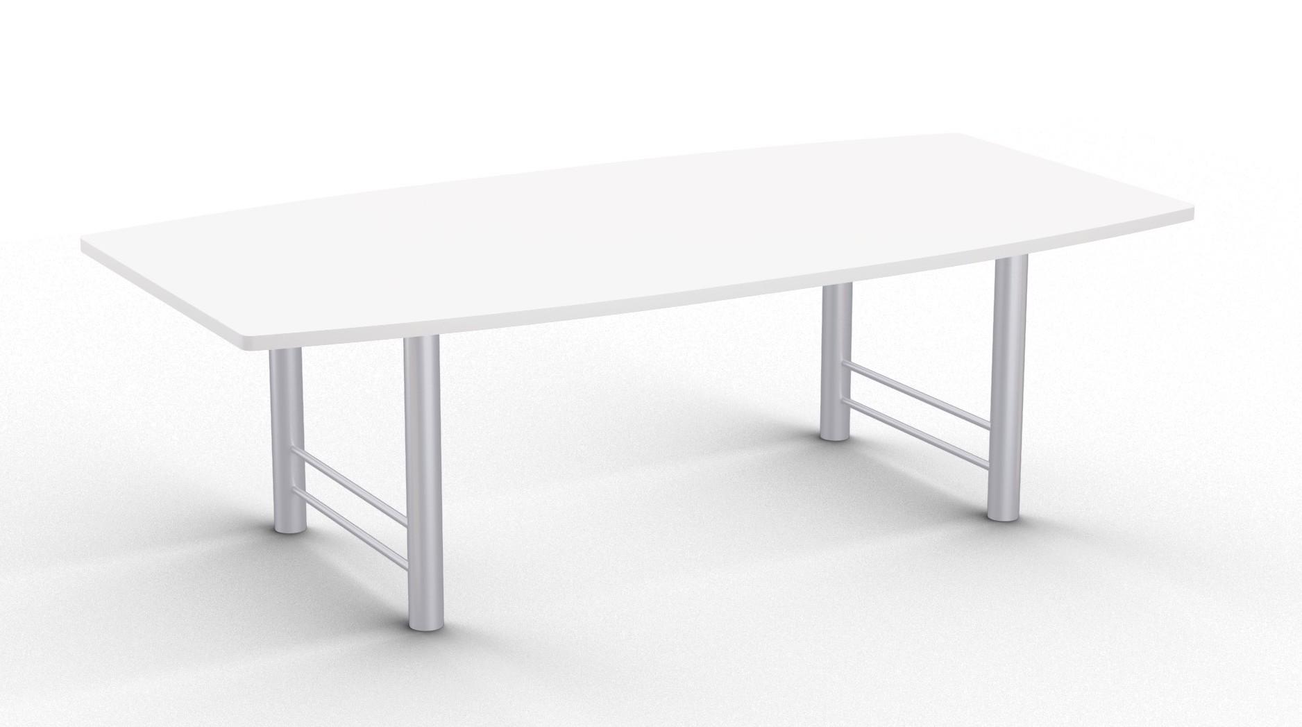 benton boat shaped table