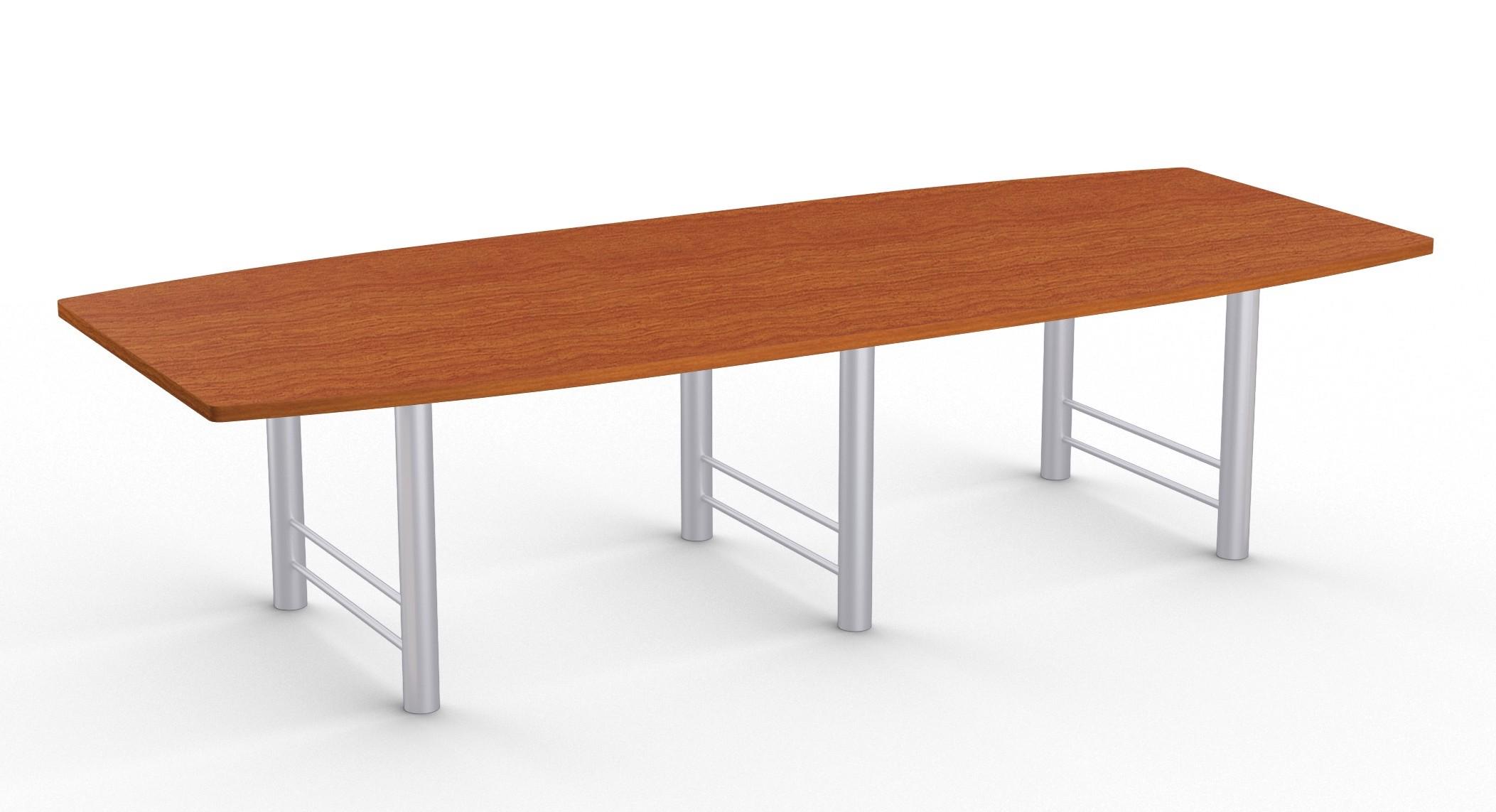 benton large boat shaped boardroom table