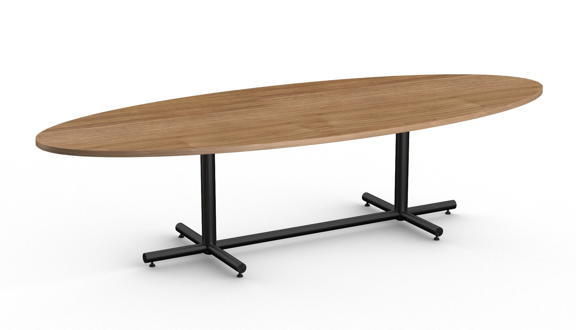 special t modern oval conference table