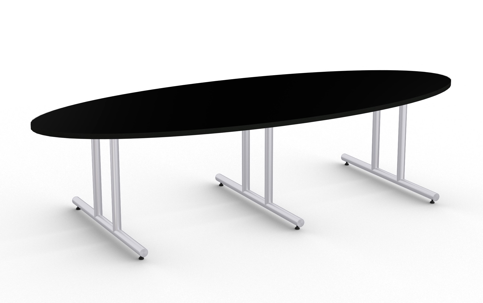 olympus large oval boardroom table